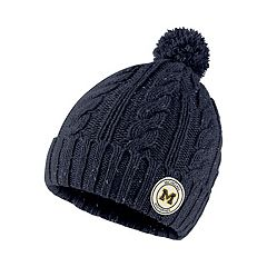 Women's Nike Michigan Wolverines Pom Beanie