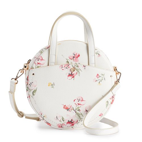 LC Lauren Conrad Lydia Floral Crossbody Bag