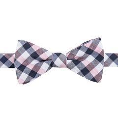 104414d9e250 Men's Chaps Patterned Linen-Blend Pre-Tied Bow Tie