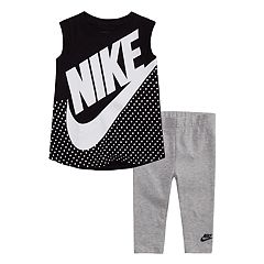 Baby Girl Nike 2-Piece Sleeveless Tunic Top & Leggings Set