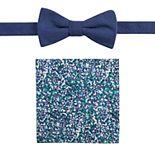 Men's Apt. 9® Glenburn Floral Bow Tie & Pocket Square Set