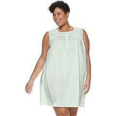Plus Size Croft & Barrow® Pintuck Sleepshirt