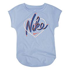 Toddler Girl Nike Heart Graphic Tee