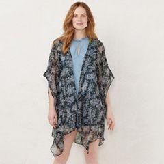 de4d7be7d Women's LC Lauren Conrad Floral Kimono