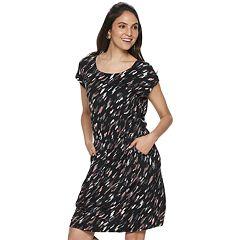 Women's Apt. 9® Cinch Waist T-Shirt Dress