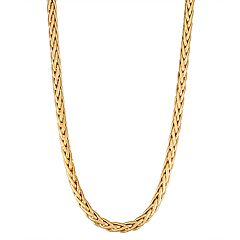 10K Gold Wheat Necklace
