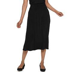 Women's Dana Buchman Travel Anywhere Midi Skirt