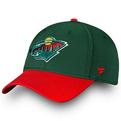 Adult Minnesota Wild Iconic Flex-Fit Cap