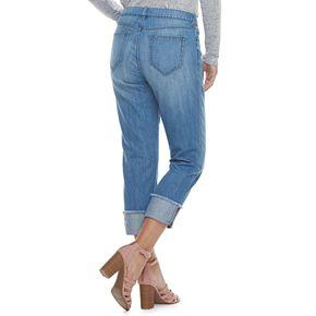 Women's Jennifer Lopez Mid-Rise Boyfriend Jeans