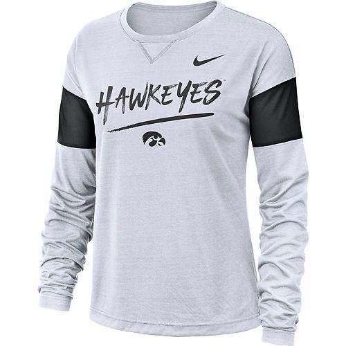 Women's Nike Iowa Hawkeyes Breathe Tee
