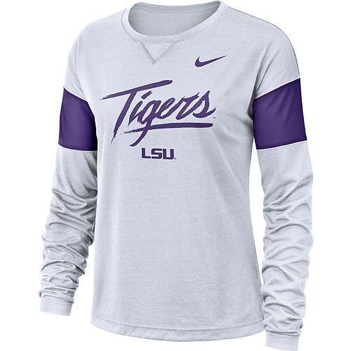 Women's Nike LSU Tigers Breathe Tee