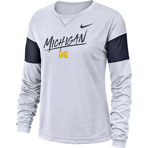 Men's Nike Michigan Wolverines Breathe Tee