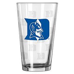 Boelter Duke Blue Devils Etched Pint Glass