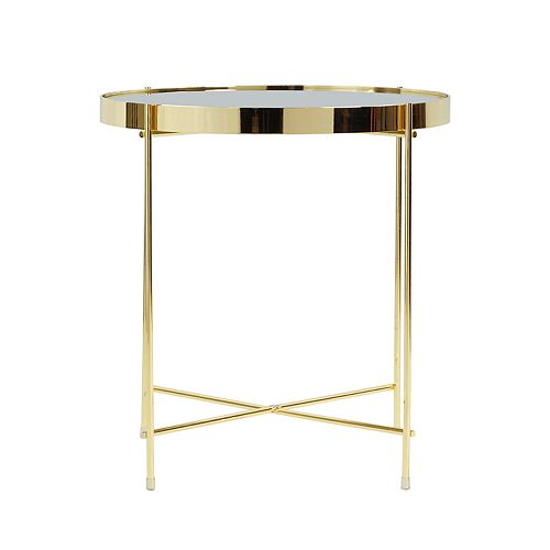 Ritz Mirrored End Table