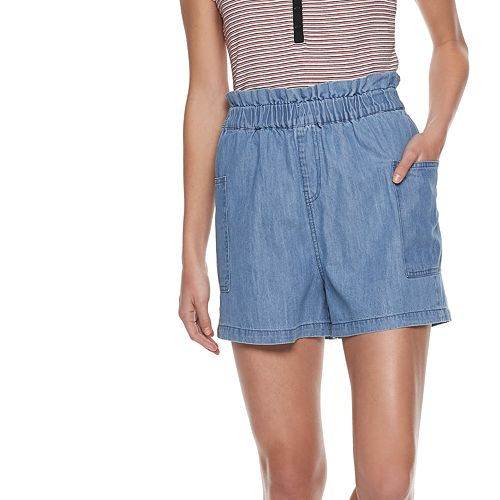 Women's POPSUGAR Paperbag-Waist Shorts