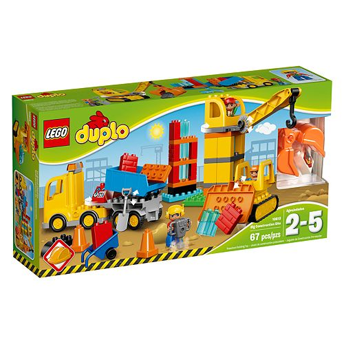 Lego Duplo Big Construction Site 10813 by Lego