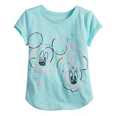Disney's Mickey & Minnie Mouse Toddler Girl Glittery Graphic Tee by Jumping Beans®