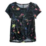 Girls 7-16 & Plus Size SO® Twist Front Tee