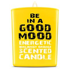 BE IN A GOOD MOOD Energetic Bergamot Orange Scented Candle