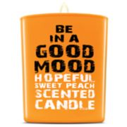 BE IN A GOOD MOOD Hopeful Sweet Peach Scented Candle