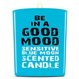 BE IN A GOOD MOOD Sensitive Blue Moon Scented Candle