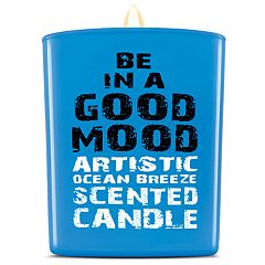 BE IN A GOOD MOOD Artistic Ocean Breeze Scented Candle