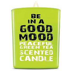 BE IN A GOOD MOOD Peaceful Green Tea Scented Candle