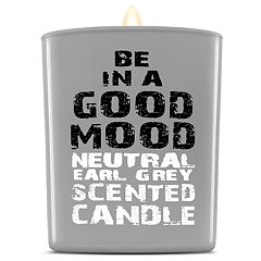 BE IN A GOOD MOOD Neutral Earl Grey Scented Candle