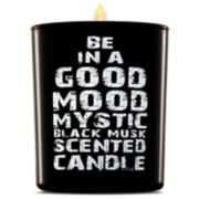 BE IN A GOOD MOOD Mystic Black Musk Scented Candle