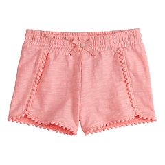 df5dfc6269 Toddler Girl Jumping Beans® Print Pom-Trim Shorts