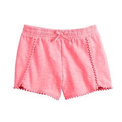 83973def4 Girls 4-12 Jumping Beans® Pom-Trim Shorts