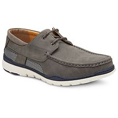 cfb103f548a5 Xray The Cherwell Men's Boat Shoes. Gray Black Brown