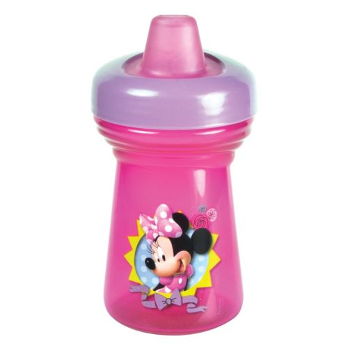 Disney Mickey Mouse Clubhouse Minnie Mouse Travel Lock Sippy Cup by The First Years