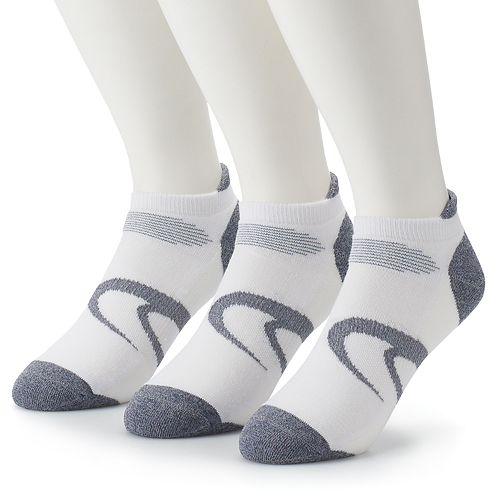 Men's ASICS 3-pack Intensity Single-Tab Low-Cut Socks