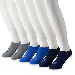 Men's ASICS 6-Pack Performance No-Show Socks