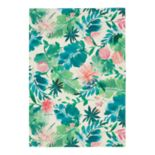 SONOMA Goods for Life? Printed Palm Floral Indoor Outdoor Rug