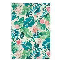 SONOMA Goods for Life Floral Indoor Floral Indoor Outdoor Rug Deals