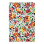 SONOMA Goods for Life? Printed Floral Indoor Outdoor Rug