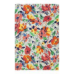 SONOMA Goods for Life™ Printed Floral Indoor Outdoor Rug