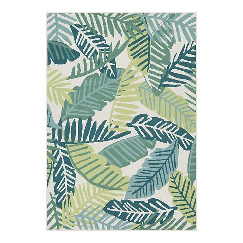 Sonoma Goods For Life Palm Indoor Outdoor Rug