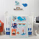 Trend Lab Ocean Pals 3 Piece Crib Bedding Set