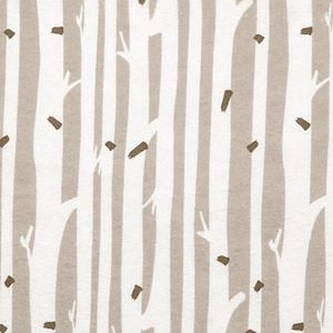 Trend Lab Birch Stripe Deluxe Flannel Fitted Crib Sheet