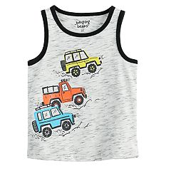 Toddler Boy Jumping Beans® Truck Graphic Tank Top