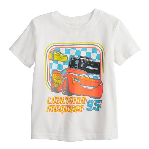 Disney / Pixar Cars Lightning McQueen Toddler Boy Graphic Tee by Jumping Beans®
