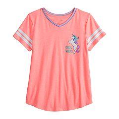 10af37d07 SO V-Neck T-Shirts Tops & Tees - Tops, Clothing | Kohl's
