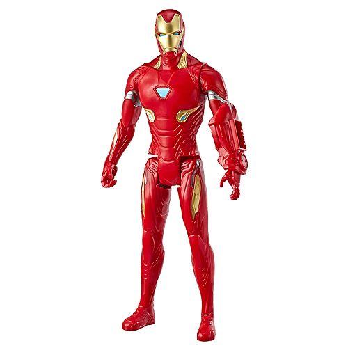 Hasbro Marvel Avengers: Endgame Titan Hero Series Iron Man 12-Inch Action Figure