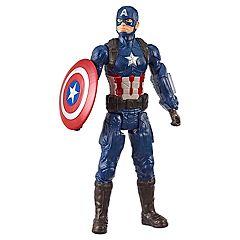 ae1ec22e3944 Hasbro Marvel Avengers  Endgame Titan Hero Series Captain America 12-Inch  Action Figure