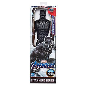 "Marvel Avengers: Infinity War Titan Hero Series Black Panther 12"" Super Hero Action Figure with Titan Hero Power FX Port"