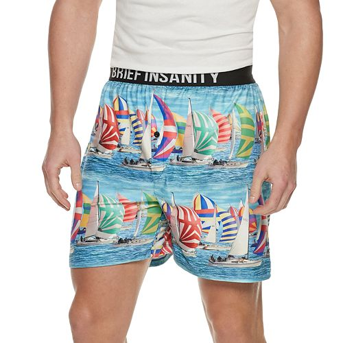 Men's Brief Insanity Novelty Boxers