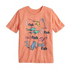 Boys 4-12 Jumping Beans® Dr. Seuss One Fish Two Fish Graphic Tee